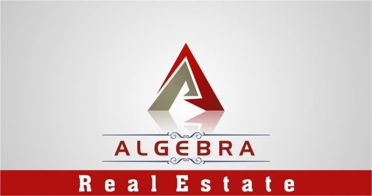 Penyertaan Peraduan #280 untuk Design a Logo for Algebra Real Estate