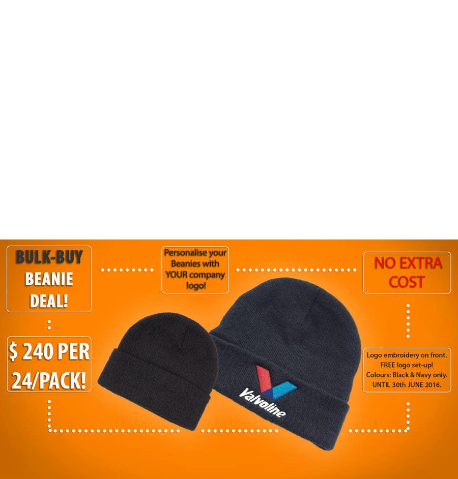 BEANIE HAT PERSONALISED WITH YOUR OWN LOGO//TEXT BUSINESS WORKWEAR