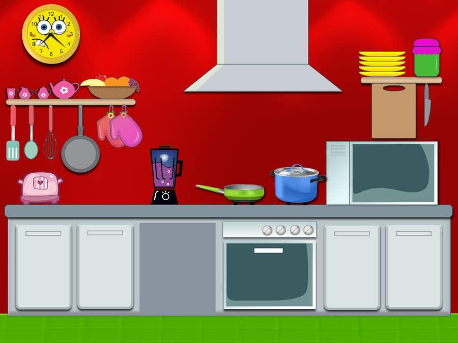 Konkurrenceindlæg #9 for Design an App Mockup for childrens iPad game