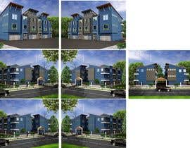 #8 for I need 3D renderings done for a town house complex by archmamun