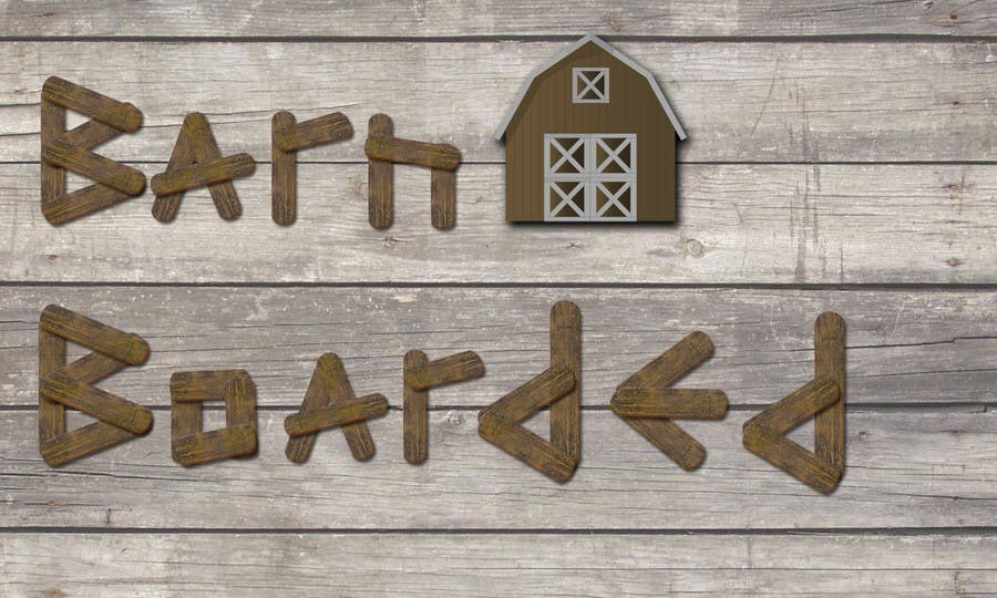 Contest Entry #18 for Design a Logo for a new business (Barn Boarded)
