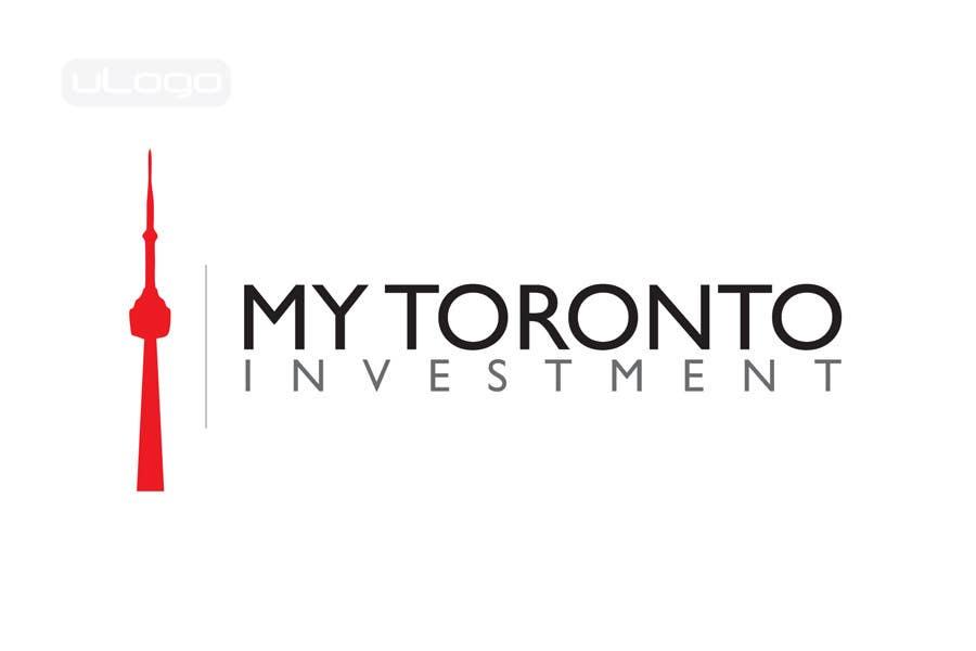 Penyertaan Peraduan #418 untuk Logo Design for My Toronto Investment