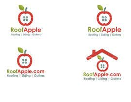 nº 3 pour Design a Logo for RoofApple.com par uhassan