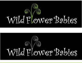 #3 for Design a Logo for Wild Flower Babies af jbravisto