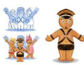 #56 untuk Illustration of Gay Gingerbread Men oleh Milos009