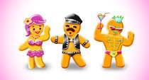 Bài tham dự #40 về Photoshop cho cuộc thi Illustration of Gay Gingerbread Men