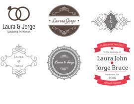 Nro 3 kilpailuun Laura & Jorge Wedding Logo and Invitations käyttäjältä raucau