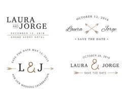 Nro 4 kilpailuun Laura & Jorge Wedding Logo and Invitations käyttäjältä raucau