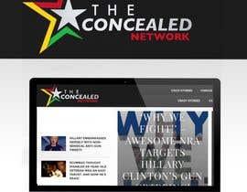 Nro 317 kilpailuun Logo Design for The Concealed Network käyttäjältä PhongDesigner