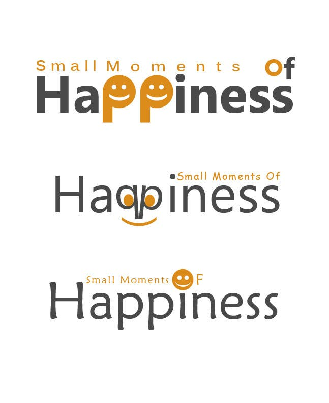 Konkurrenceindlæg #32 for Design a Logo for Small Moments of Happiness, from Uptitude