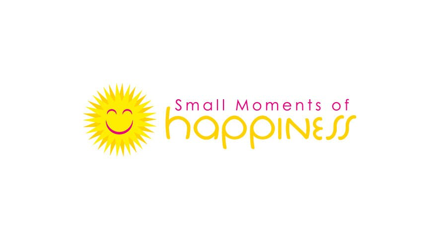 #43 for Design a Logo for Small Moments of Happiness, from Uptitude by YamahaMama