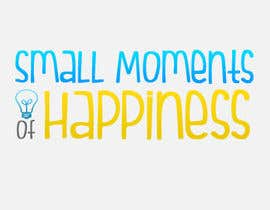 #35 cho Design a Logo for Small Moments of Happiness, from Uptitude bởi Alliosaurus