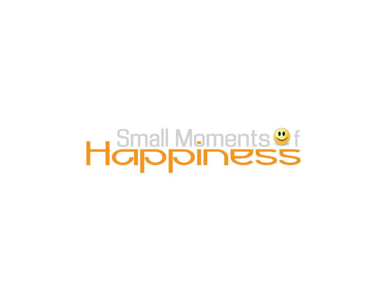 #37 for Design a Logo for Small Moments of Happiness, from Uptitude by ffarukhossan10