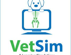 #255 for Design a Logo for VetSim af alpzgven