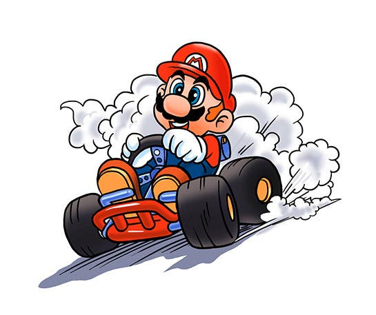 #22 for Draw Super Mario Kart caricature by AvatarFactory