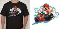 #34 for Draw Super Mario Kart caricature by AvatarFactory