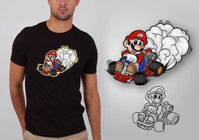 #11 for Draw Super Mario Kart caricature by dsgrapiko