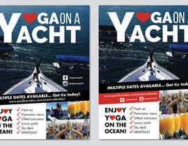 Nro 34 kilpailuun Design Yoga on a Yacht Flyer käyttäjältä DaveWL