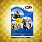 Design Yoga on a Yacht Flyer için Graphic Design30 No.lu Yarışma Girdisi