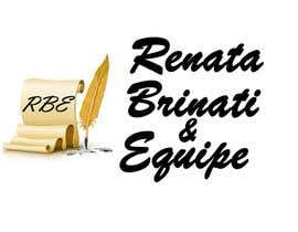 Nro 9 kilpailuun Logo to Renata Brinati & Equipe, Webwriters käyttäjältä sabeshkumar