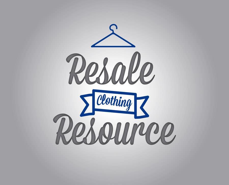 Kilpailutyö #39 kilpailussa Design a Logo for  Resale Clothing Resource