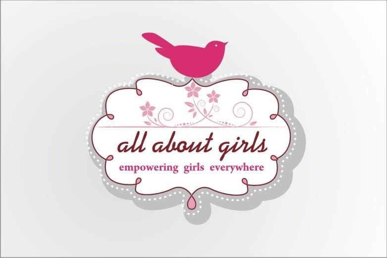 Participación en el concurso Nro.117 para Logo Design for All About Girls