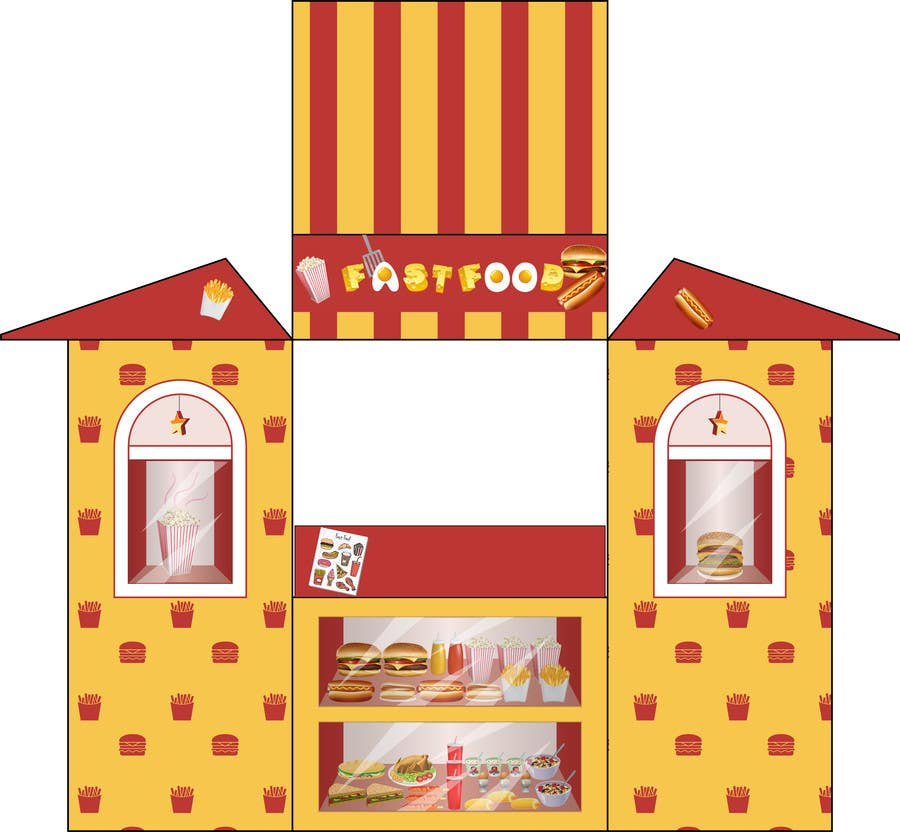 #24 for Children's Play Time Tent Design by SaranyaKrish