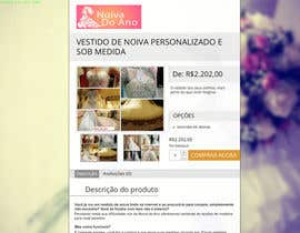 nº 5 pour Design product description for wedding dresses (over a existing text) par AndyBag
