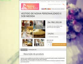 nº 14 pour Design product description for wedding dresses (over a existing text) par AndyBag