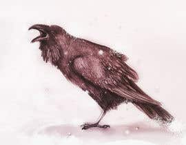 #38 cho Illustration of Raven in Snow bởi marinaChe
