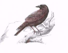 #33 cho Illustration of Raven in Snow bởi FirmantoHenry