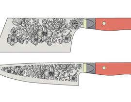 vivekdaneapen tarafından I need a Grafik Design to etch on my Kickstarter Knife Series için no 15