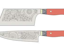 RedHotIceCold tarafından I need a Grafik Design to etch on my Kickstarter Knife Series için no 1