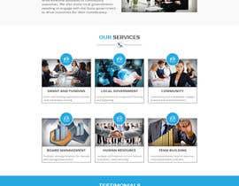Nro 6 kilpailuun Design a Website Concept/Mockup for a service industry business website käyttäjältä husainmill