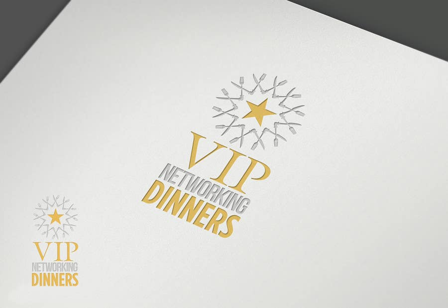 #90 for Design a Logo for Vip networking dinners by grafkd3zyn