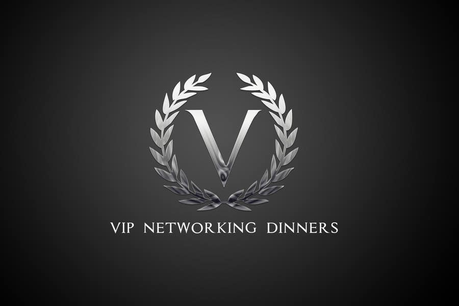 #60 for Design a Logo for Vip networking dinners by helenasdesign