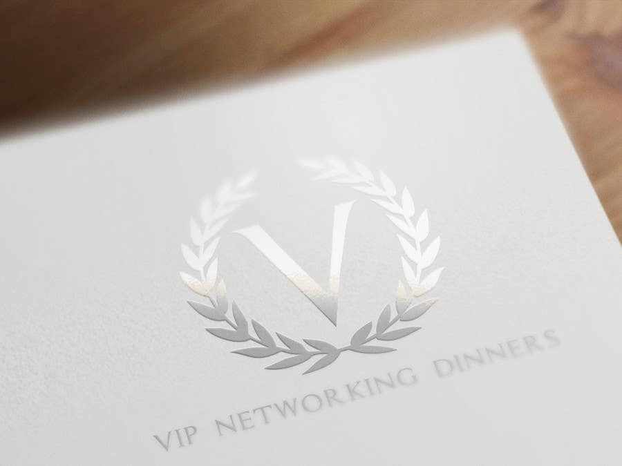 #75 for Design a Logo for Vip networking dinners by helenasdesign