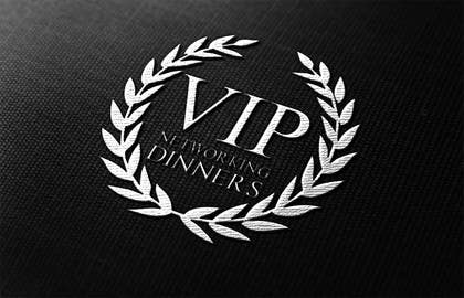 Graphic Design Contest Entry #93 for Design a Logo for Vip networking dinners