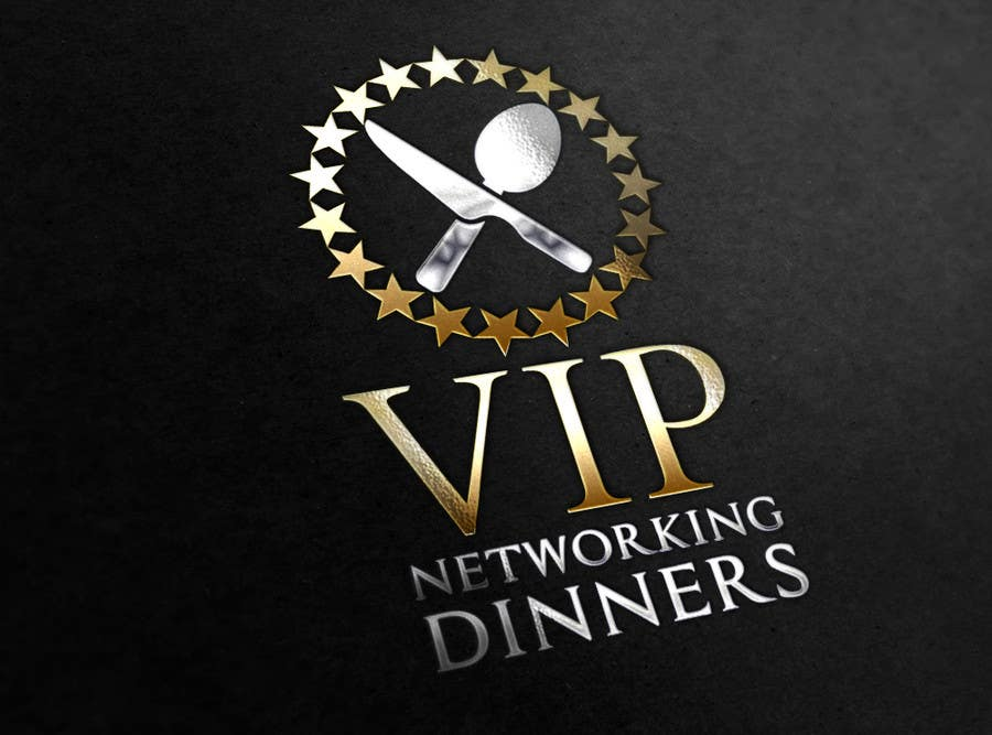 #156 for Design a Logo for Vip networking dinners by helenasdesign