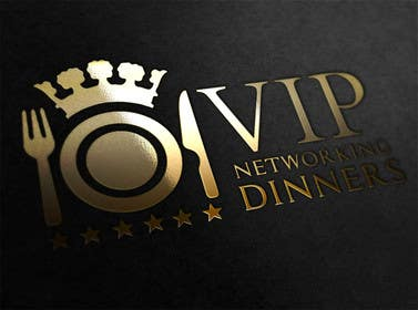 Graphic Design Contest Entry #159 for Design a Logo for Vip networking dinners