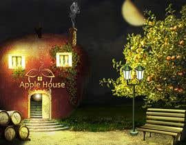#6 untuk Фотоколлаж или оригинальная картина, обыгрывающая яблоко-домик oleh CioLena