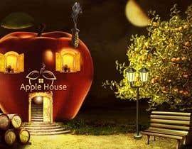 #11 untuk Фотоколлаж или оригинальная картина, обыгрывающая яблоко-домик oleh CioLena