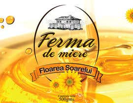 mandeepkrsharma tarafından Label design for Honey Jar (eticheta miere) için no 49