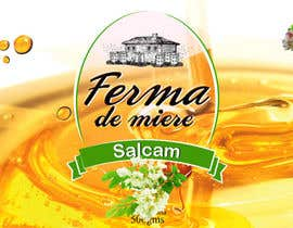 mandeepkrsharma tarafından Label design for Honey Jar (eticheta miere) için no 71