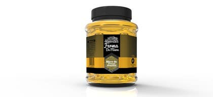 #65 for Label design for Honey Jar (eticheta miere) by oroborus