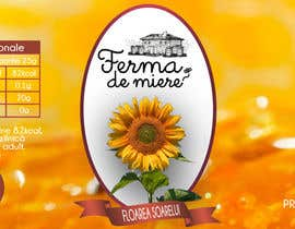oroborus tarafından Label design for Honey Jar (eticheta miere) için no 82