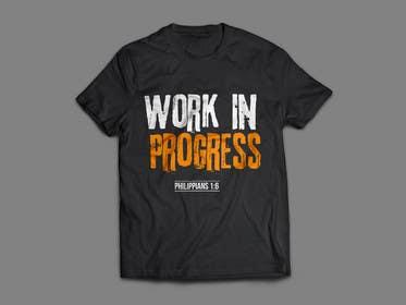 alizahoor001 tarafından Design a T-Shirt - Philippians 1:6 için no 45