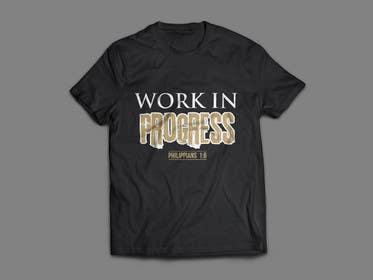 alizahoor001 tarafından Design a T-Shirt - Philippians 1:6 için no 59