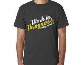 jeffnelshabong tarafından Design a T-Shirt - Philippians 1:6 için no 91