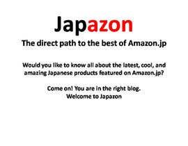 #21 para Blog name Description for Amazon.jp affiliate blog in English - SEO title por Asturias09